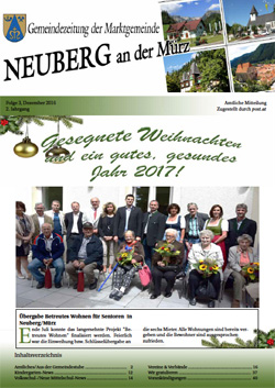 Gemeindezeitung Dezember