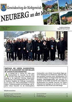 Gemeindezeitung Juli